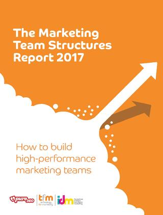 Marketing Team Structures 2017 Report